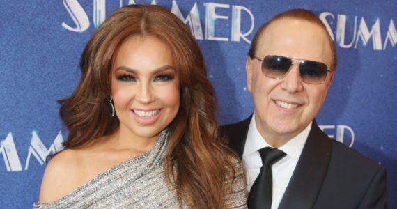 Así recordaron Thalía y Tommy Mottola su aniversario 18 de bodas