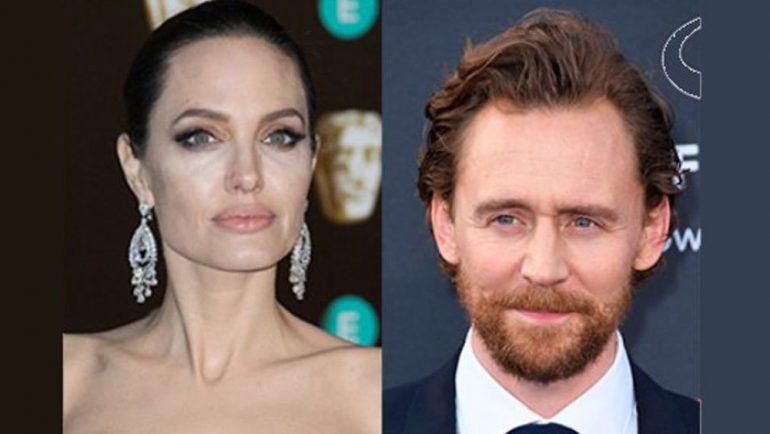 Angelina Jolie estaría en idilio de amor con Tom Hiddleston