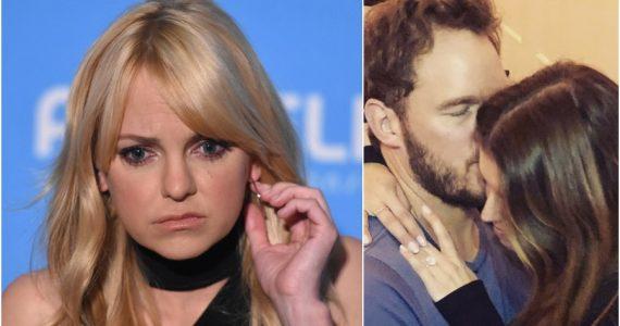 Así reaccionó Anna Faris al compromiso de Chris Pratt