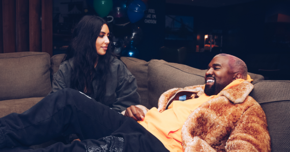 Así fue la fiesta de cumpleaños de Chicago, la hija de Kim Kardashian y Kanye West