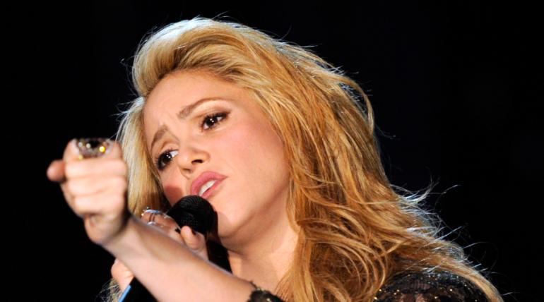 Shakira está de luto
