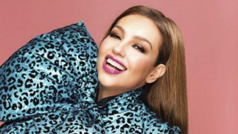 Thalía sorprende a sus fans con espectacular rutina de ejercicios