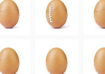 Eugene, el huevo que rompió el récord de Me Gusta en Instagram