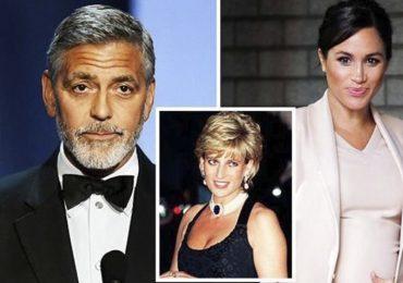 George Clooney teme que Meghan Markle corra misma suerte que Lady Di