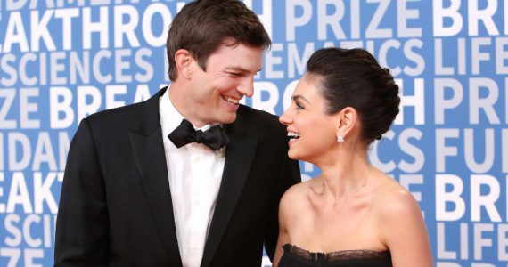 Ashton Kutcher, Mila Kunis. Foto: Getty Images