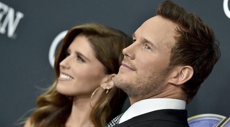 Chris Pratt presume foto de su boda con Katherine Schwarzenegger