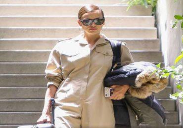 Irina Shayk abandonó la mansión de Bradley Cooper