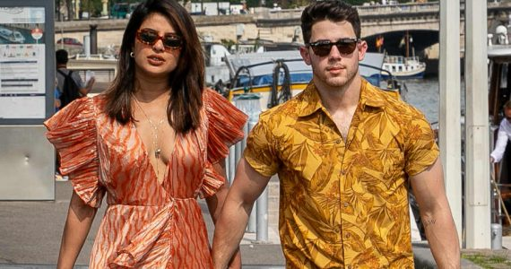 Priyanka Chopra y Nick Jonas. Foto: Getty Images