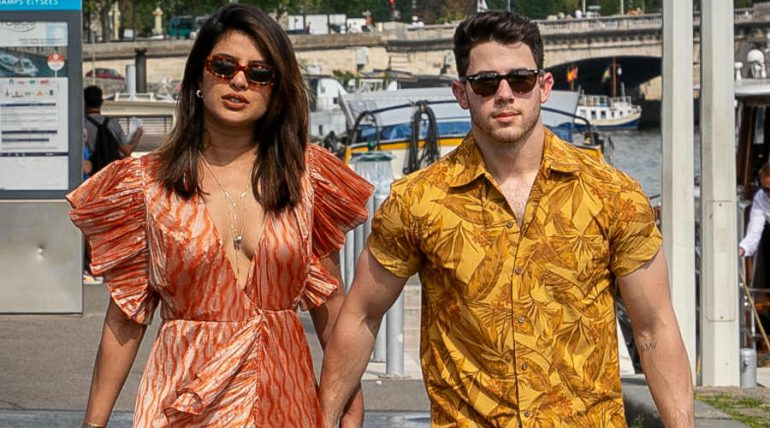 Priyanka Chopra y Nick Jonas. Foto: Getty Images