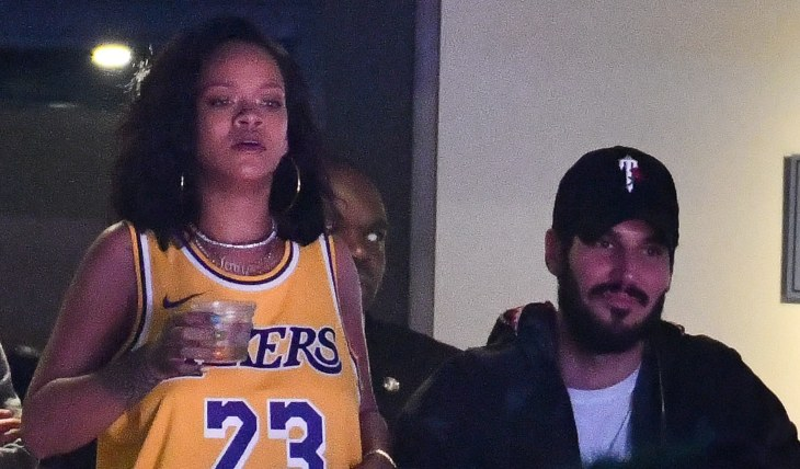 Rihanna y Hassan Jameel. Foto Getty Images