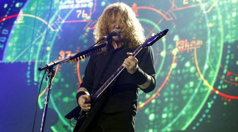 Dave Mustaine. Foto: Getty Images