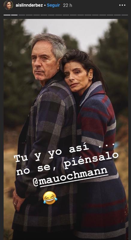 """Famosos prueban la app de """"ancianos"""" - Captura Instagram"""