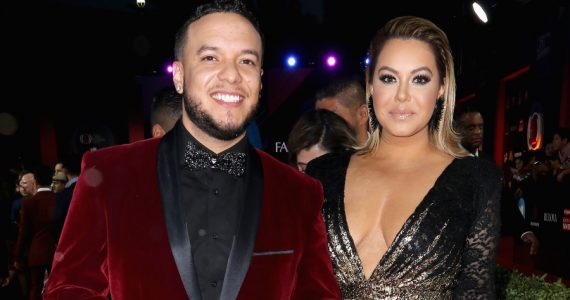 Lorenzo Méndez, Chiquis Rivera. Foto: Getty Images