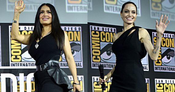 Salma Hayek, Angelina Jolie. Fotos: Getty Images