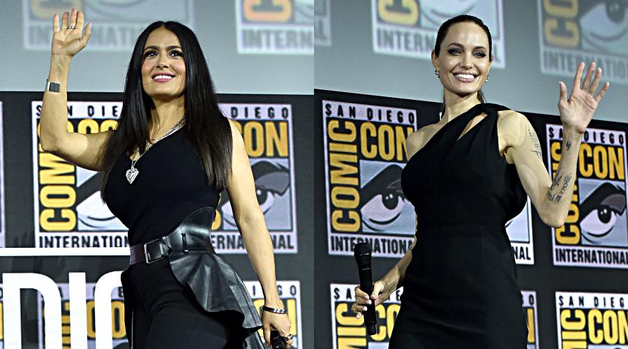 Salma Hayek, Angelina Jolie. Fotos: Getty Images