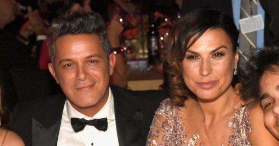 Alejandro Sanz y Raquel Perera | Foto: Getty Images
