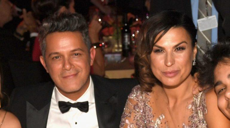 Alejandro Sanz y Raquel Perera   Foto: Getty Images