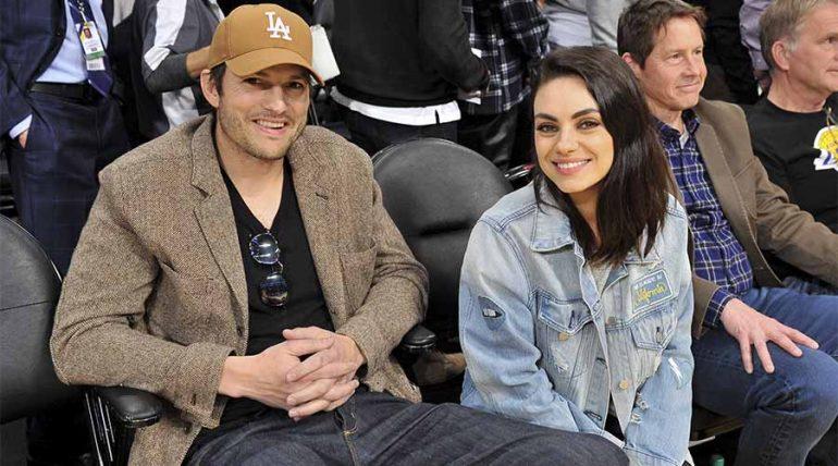 """Asthon Kutcher y Mila Kunis derriten las redes sociales cantando """"La vaca loca"""" - Getty"""