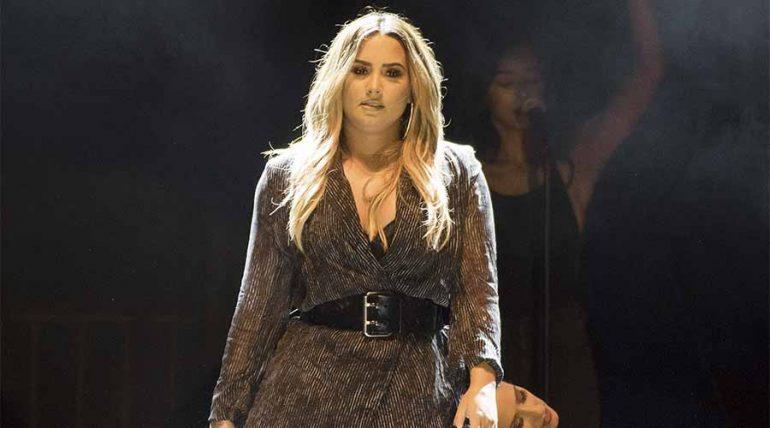 Así respondió Demi Lovato a quien le sugirió que bajara su peso - Getty