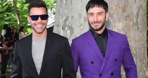 Ricky Martin y Jwan Yosef. Foto: Getty Images