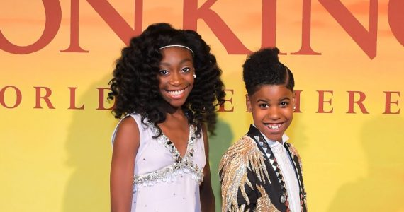 JD McCrary y Shahadi Wright | Foto: cortesía Disney