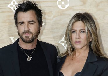 Justin Theroux y Jennifer Aniston. Foto: Getty Images