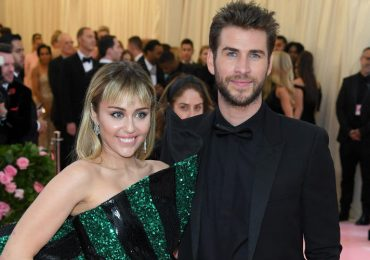 Miley Cyrus y Liam Hemsworth. Foto: Getty Images
