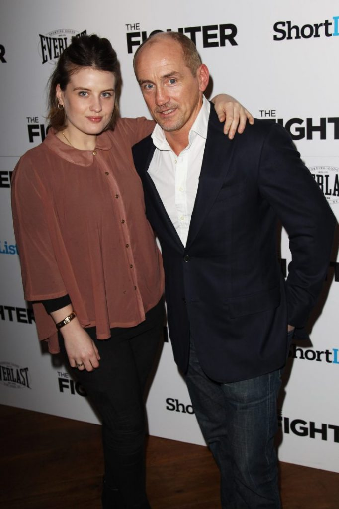 Nika y Barry McGuigan | Foto: Getty Images