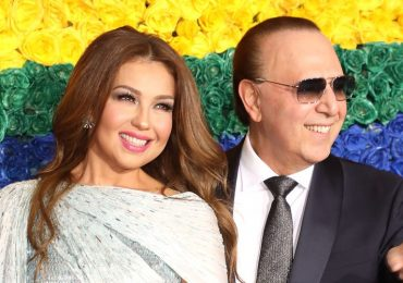 Thalía y Tommy Mottola | Foto: Getty Images