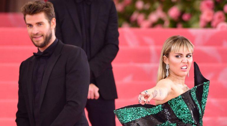 Liam Hemsworth, Miley Cyrus. Foto: Getty Images