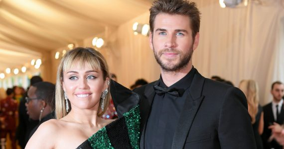 Miley Cyrus, Liam Hemsworth. Foto: Getty Images