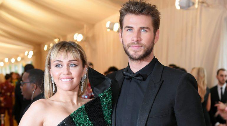 Miley Cyrus, Liam Hemsworth. Foto: Getty Images