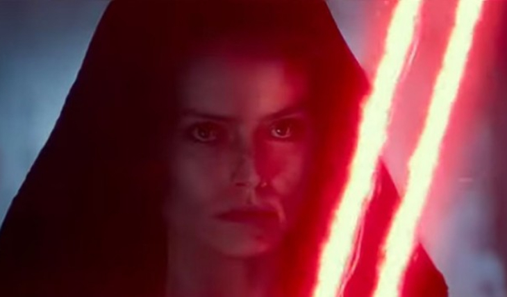 Tráiler oficial 'Star Wars IX: The Rise of Skywalker'. Captura de pantalla