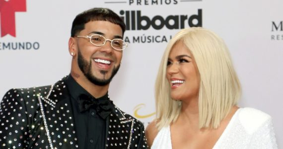 KarolG y Anuel AA | Foto: Getty Images