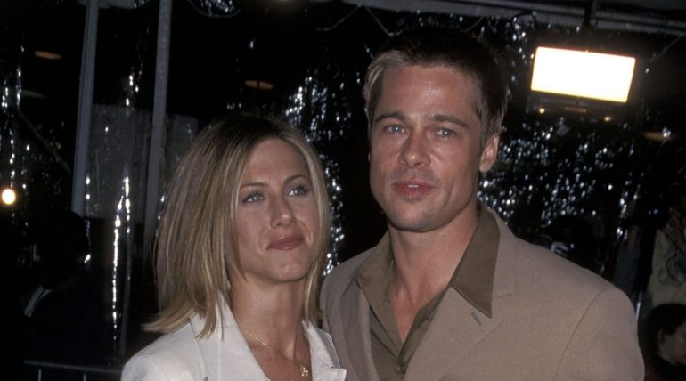 Jennifer Aniston y Brad Pitt | Foto: Getty Images
