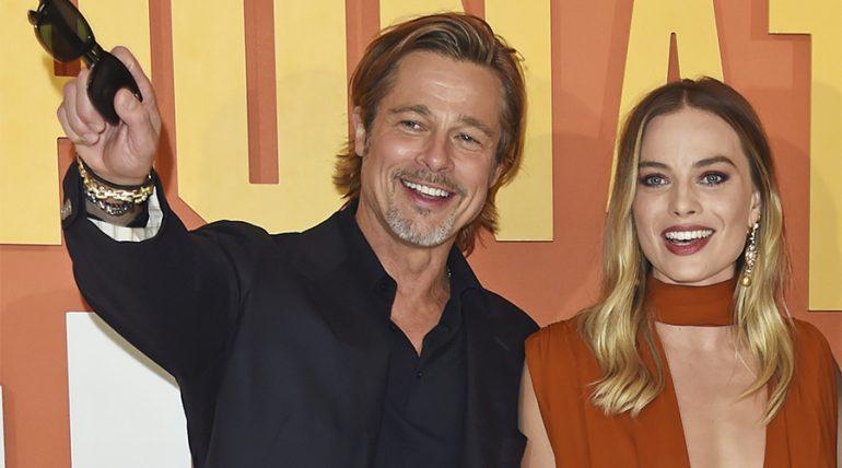 ¿Brad Pitt y Margot Robbie tiene un romance? - Getty