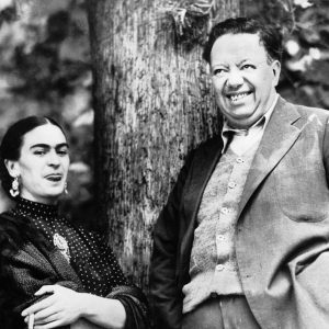 Frida Kahlo y Diego Rivera - Getty