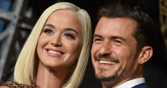 Katy Perry y Orlando Bloom. Foto: Getty Images