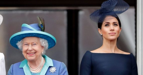 Reina Isabel II y Meghan Markle | Foto: Getty Images