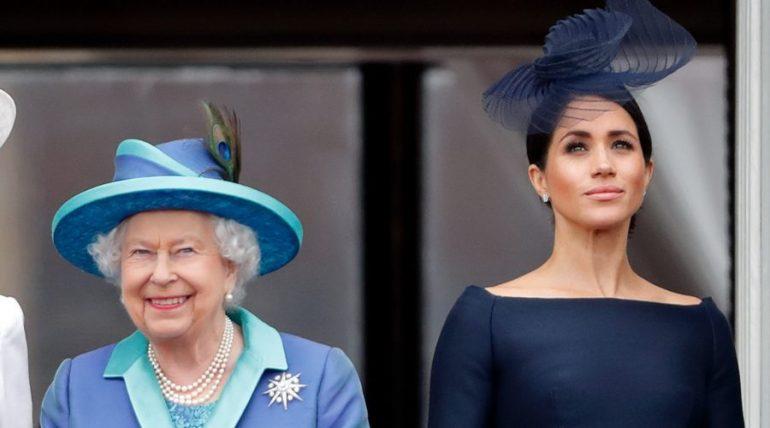 Reina Isabel II y Meghan Markle | Foto: Getty Images