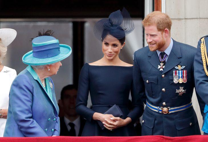 Reina Isabel II y Duques de Sussex | Foto: Getty Images