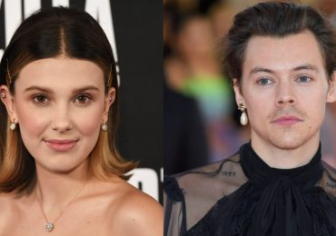 Harry Styles y Millie Bobby Brown. Fotos: Getty Images