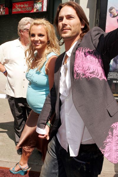 Britney Spears y Kevin Federline. Foto; Getty Images