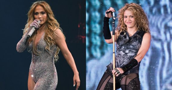 JLo / Shakira. Fotos: Getty Images