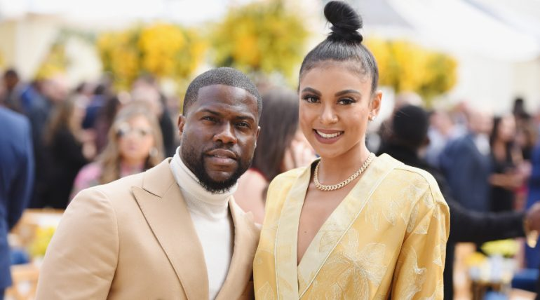 Kevin Hart, Eniko Parrish. Foto: Getty Images