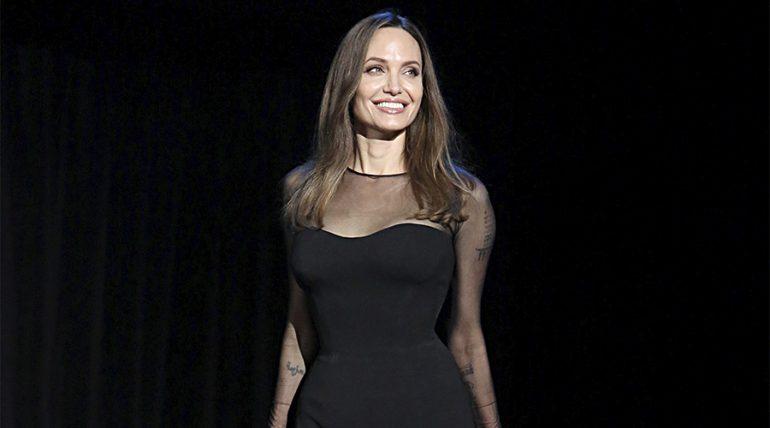 Angelina Jolie rompe el silencio sobre su vida como mamá - Getty