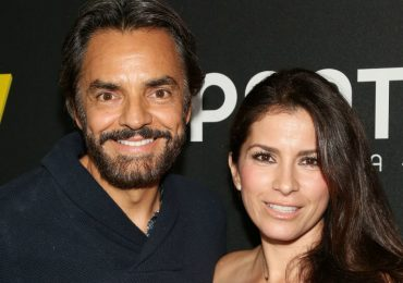 Eugenio Derbez y Alessandra Rosaldo. Foto: Getty Images