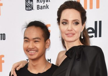 Angelina Jolie y Maddox Jole-Pitt. Foto: Getty Images
