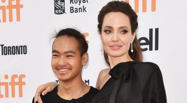 Angelina Jolie y Maddox Jole-Pitt. Foto: Getty Images