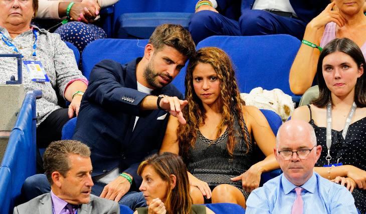 Shakira y Piqué. Foto: Getty Images